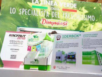 A 1Derbox di Ortomad la medaglia d'argento a Macfrut Innovation Award