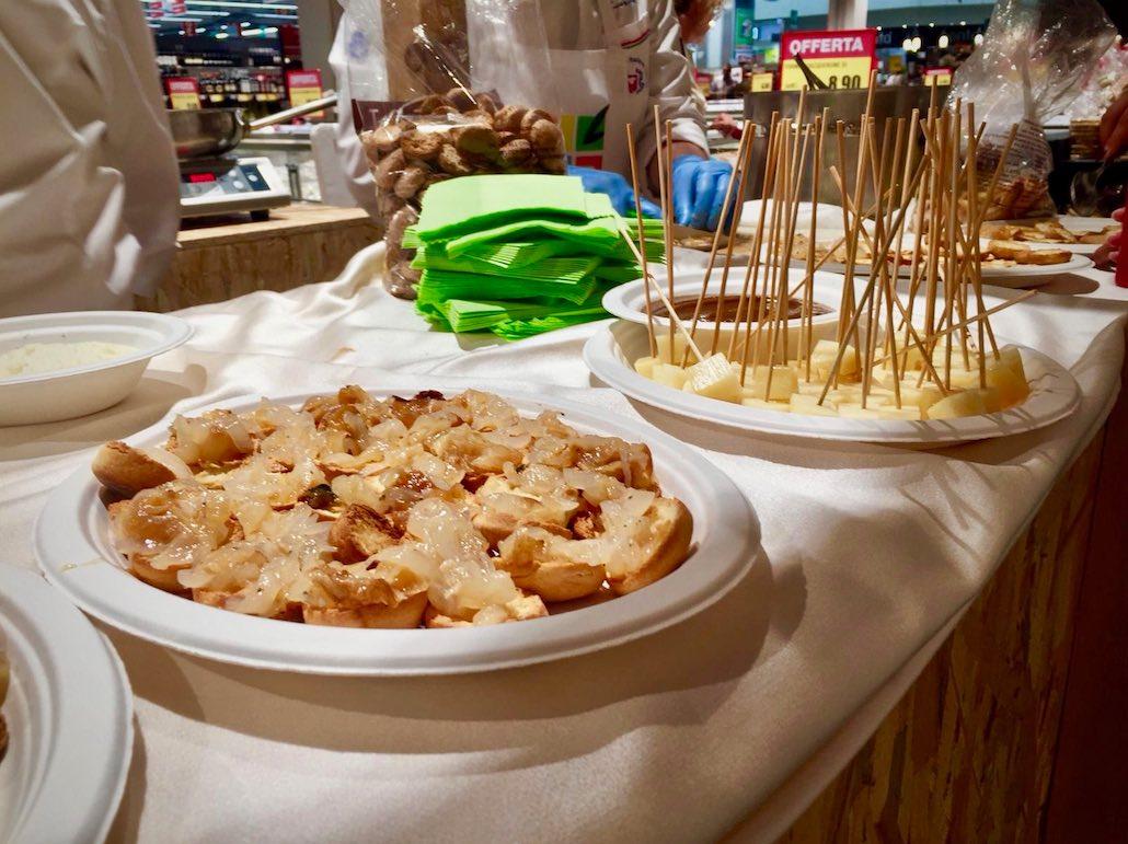 Cipolla Bianca di Margherita piatti