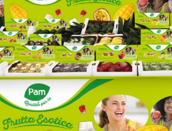 Frutta esotica protagonista in Pam. Nasce la nuova linea Qualità Per Te