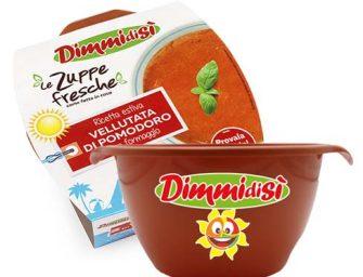 Zuppe Fresche DimmidiSì, arrivano sui banchi le ciotole estive limited edition