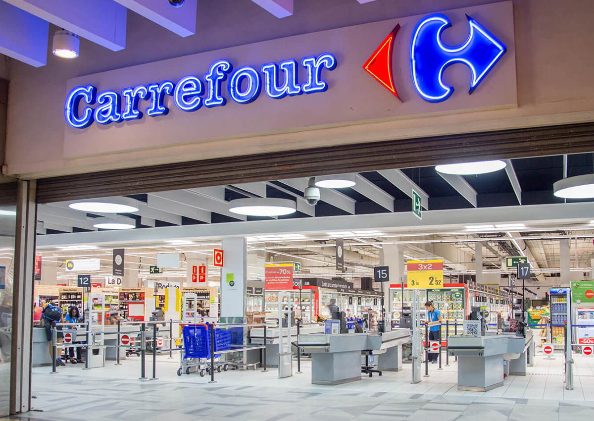 Carrefour blockchain
