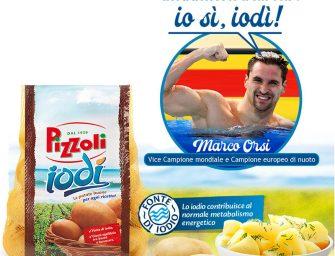 Pizzoli investe sulla patata Iodì e sceglie Marco Orsi come testimonial