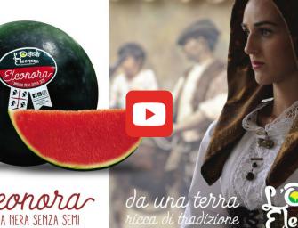 """Agricola Campidanese promuove in tv e sul web l'anguria Eleonora, """"risultato d'amore"""""""