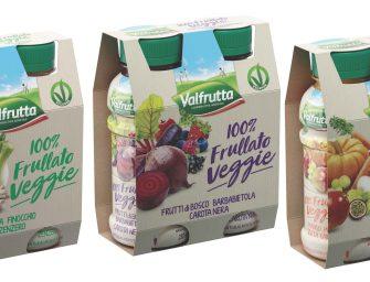 Valfrutta vince il Brands Award 2018 con 100% Frullato Veggie