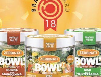 Zerbinati, le innovative Bowl'z premiate a Brands Award 2018
