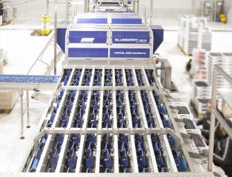 Unitec porta l'alta tecnologia ad Asia Fruit Logistica. In mostra Blueberry Vision 2