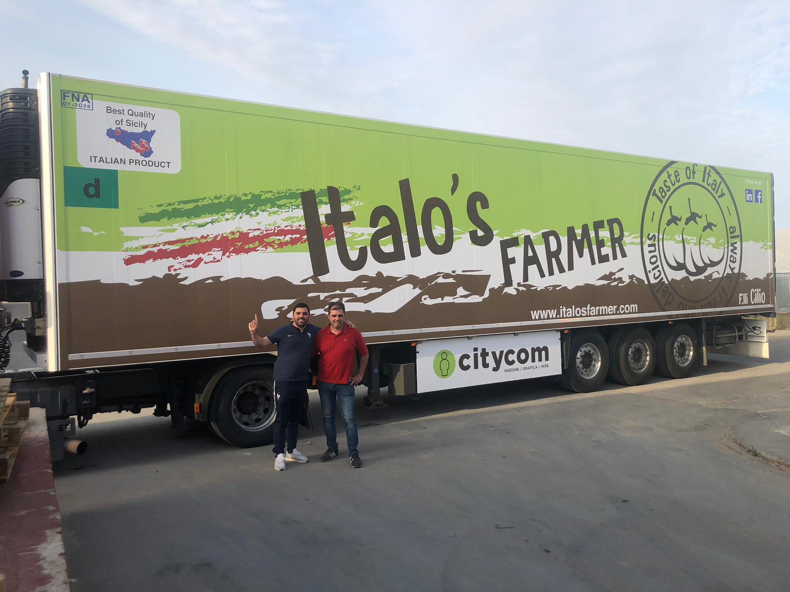 Giuseppe Cilio Italo's Farmer
