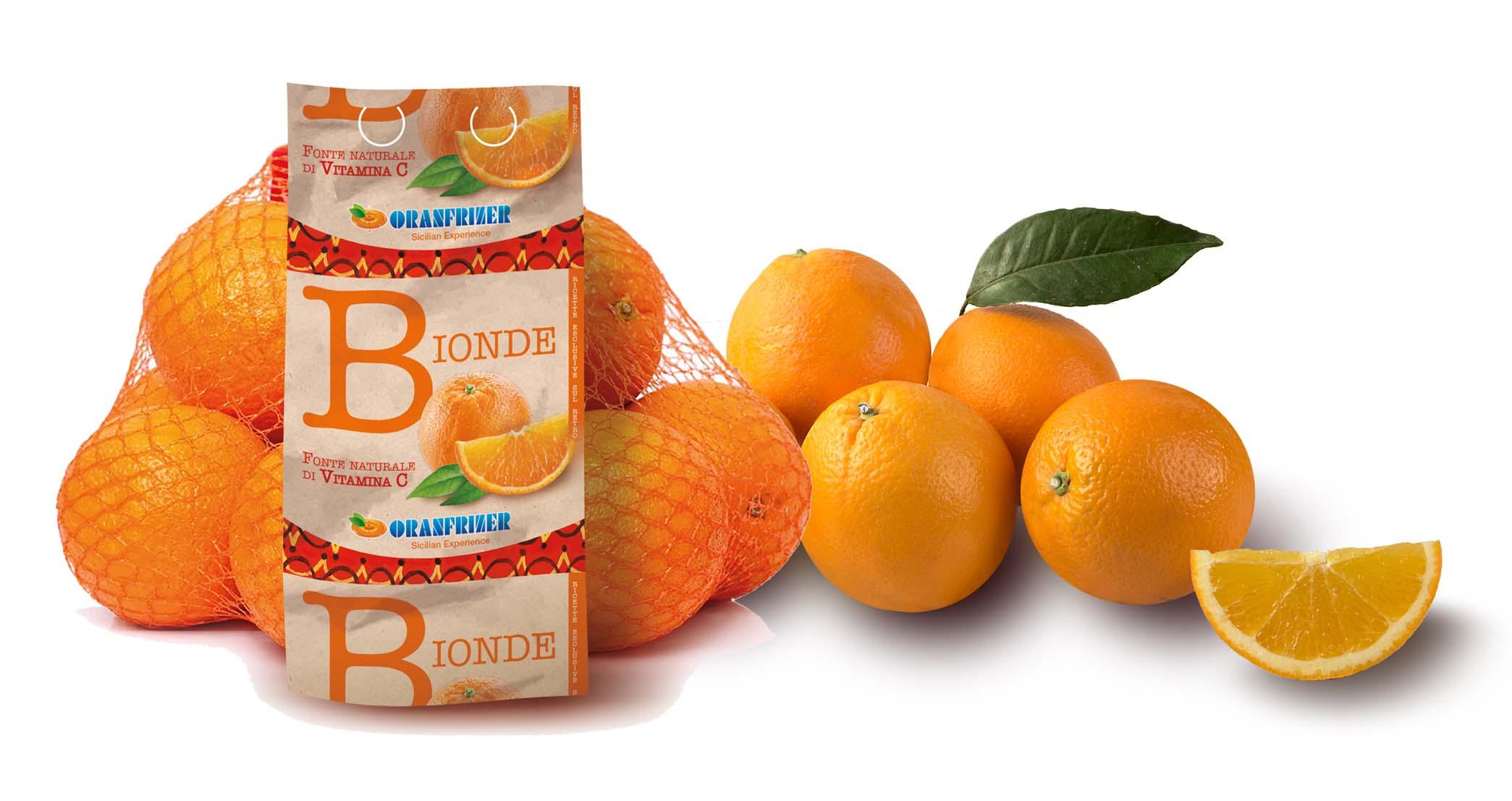 arance bionde Oranfrizer