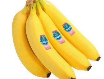 Chiquita, bollino rosa su 200 milioni di banane per la prevenzione del tumore al seno