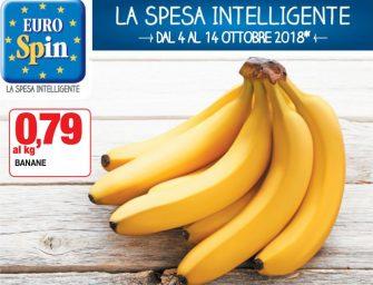 Eurospin, aste al doppio ribasso anche sulle banane. Il prezzo è giusto?