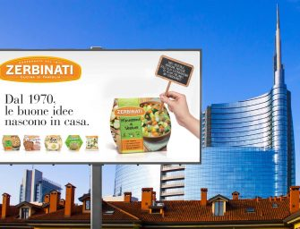 Zerbinati, al via la nuova campagna affissioni in location strategiche del circuito Gdo