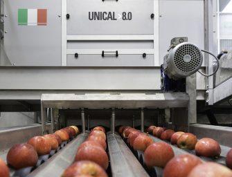 Unitec a Interpoma con Unical 8.0, la soluzione hi-tech per la classificazione delle mele