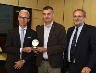 """A Conad il premio """"Il logistico dell'anno 2018"""" per la sostenibilità dei nuovi pallet Cpr"""