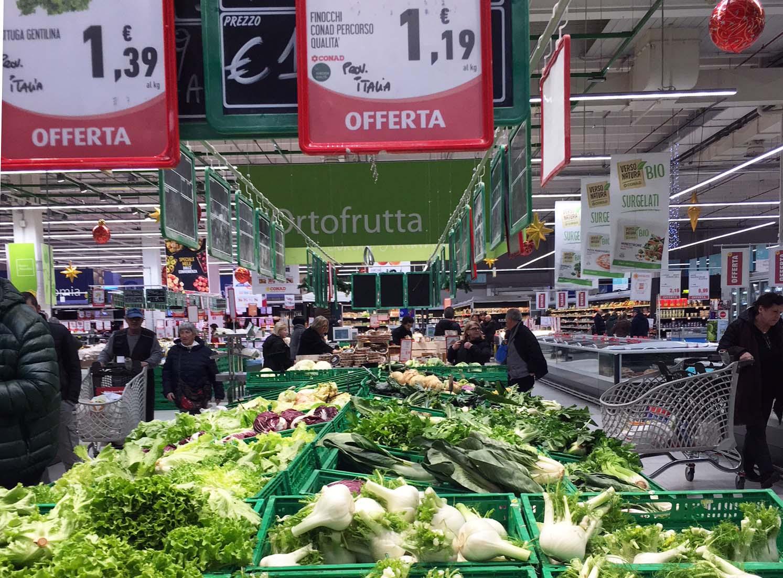 ortaggi Conad prezzi