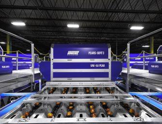 Pears Sort 3: Unitec lancia negli Usa l'alta tecnologia per la lavorazione e classificazione delle pere