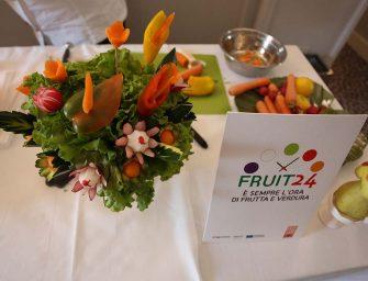 Più ortofrutta fresca sulle tavole degli italiani grazie a Fruit24. Si chiude con successo il progetto di Apo Conerpo