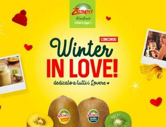 """Kiwi Zespri, arriva il concorso """"Winter in Love"""" per San Valentino"""