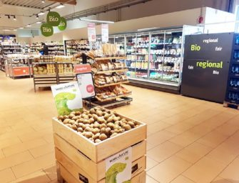Kiwi biologico Brio, un successo in Germania nei supermercati Tegut