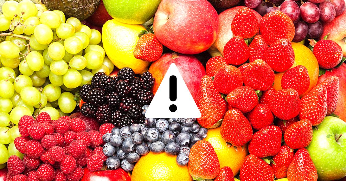 frutta verdura pesticidi