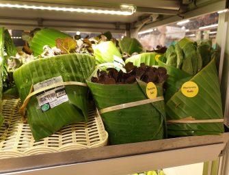 Foglie di banano al posto della plastica: il packaging per F&V che conquista il web