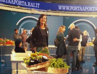 Con le Donne dell'Ortofrutta a Porta a Porta si parla di dieta veg e lotta integrata