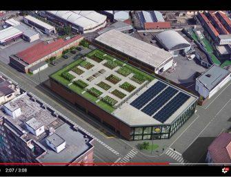 Lidl apre a Torino il primo punto vendita al mondo con gli orti urbani sul tetto