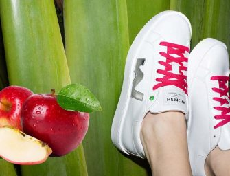 Apple Skin, l'ecopelle dagli scarti di mela per le sneakers di Womsh