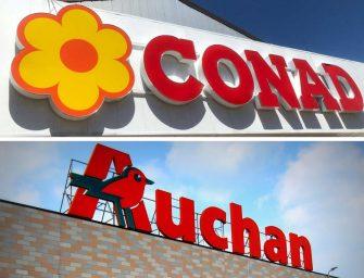 Conad acquisisce le attività di Auchan in Italia e mira alla leadership in Gdo