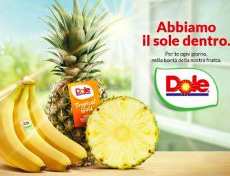 Dole, riparte in quattro città italiane la campagna di comunicazione sulla frutta premium
