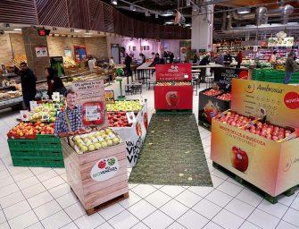 VI.P, isole in Gdo per orientare il consumatore fra le nuove varietà di mela. Le vendite impennano