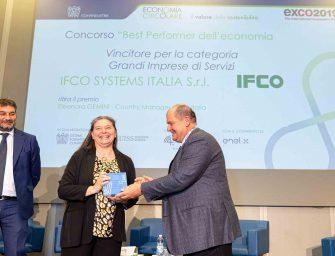 """IFCO SYSTEMS """"Best Performer dell'Economia Circolare"""" per Confindustria"""