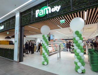 Pam city: la nuova generazione del negozio di prossimità urbana debutta a Roma