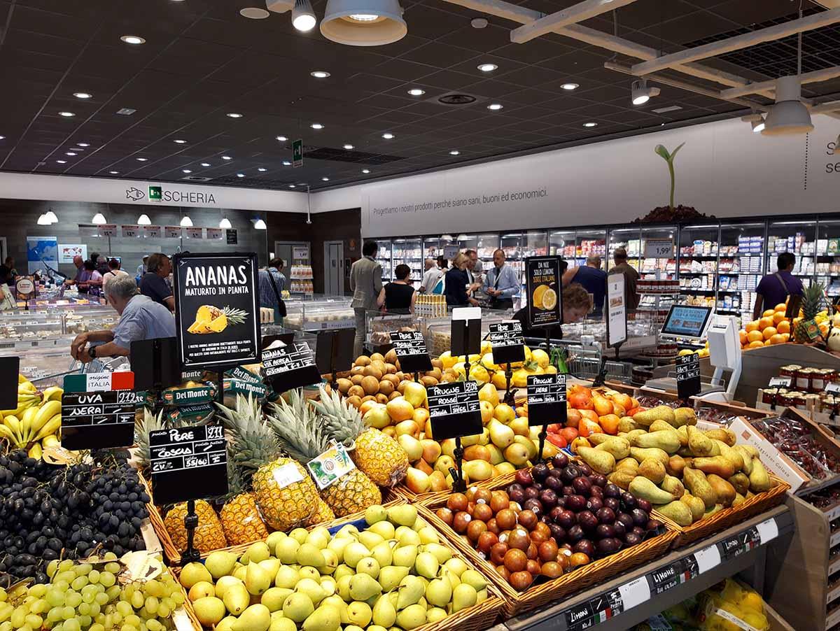 U2 Supermercato plastica