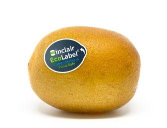 Sinclair EcoLabel, il bollino compostabile e certificato adottato da Zespri