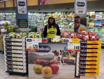 """Melinda conquista la Gdo con la promozione """"in store"""": raggiunti 200mila clienti"""