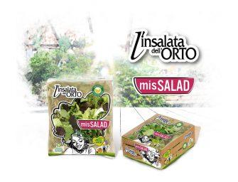 MISSALAD, nuovo brand per L'insalata dell'orto. Pack eco-friendly e referenze inedite