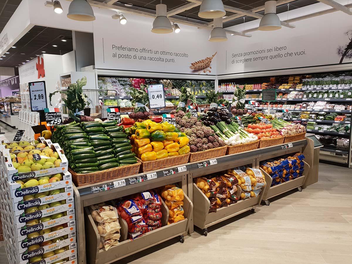 Unes U2 Supermercato ortofrutta