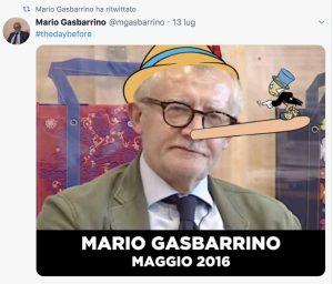 Mario Gasbarrino Twitter