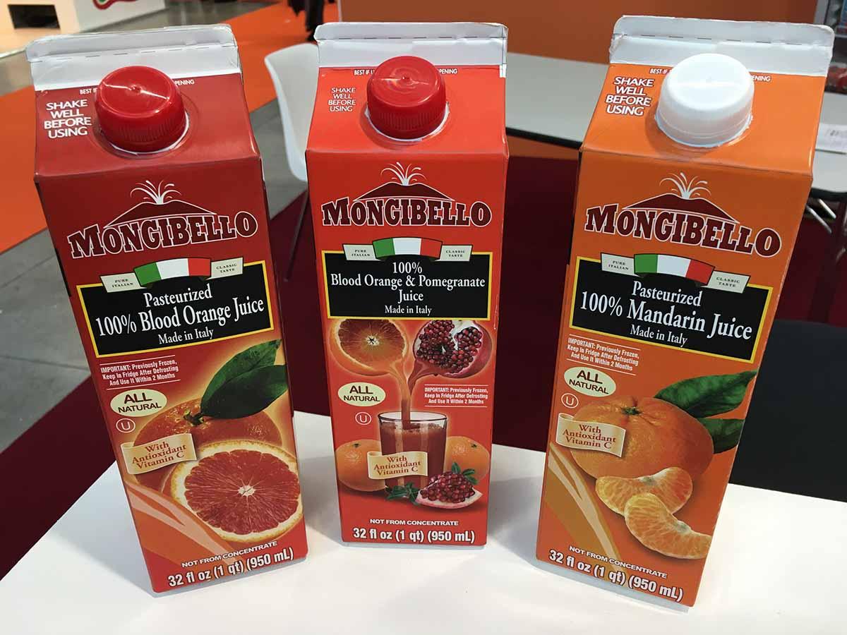 Mongibello Oranfrizer Juice