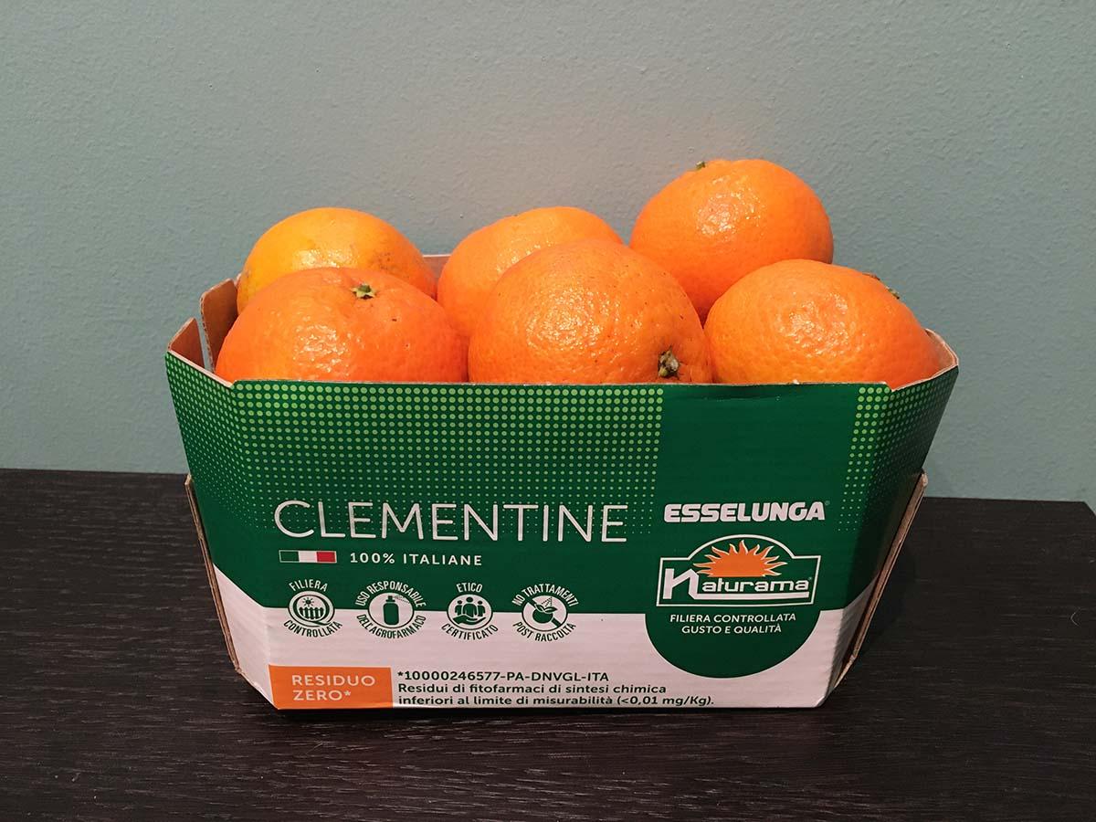Clementine residuo zero Esselunga ©FM